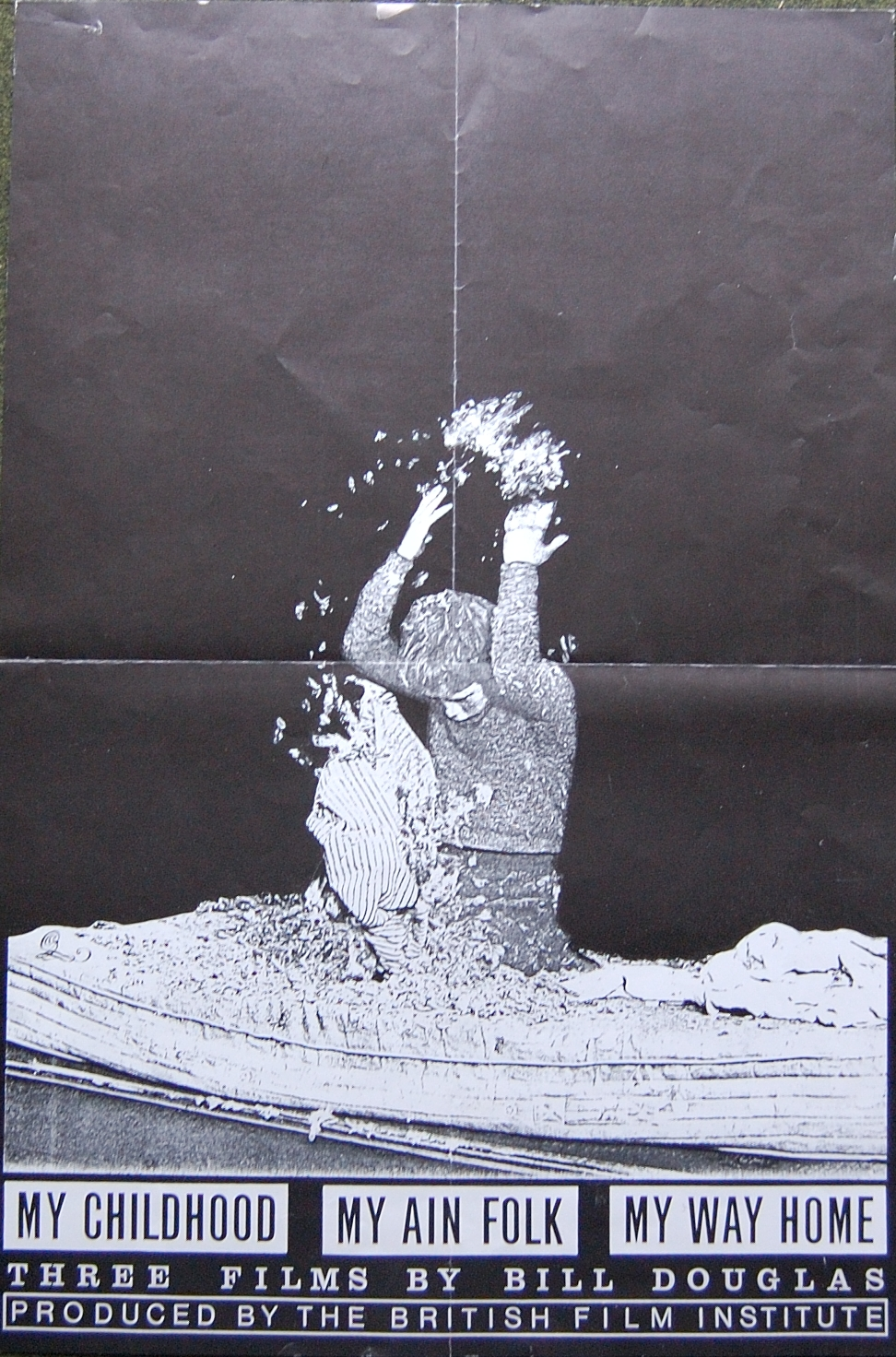 Poster of the Bill Douglas Trilogy by the Quay Brothers